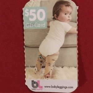 Baby Leggings $50 Gift Card